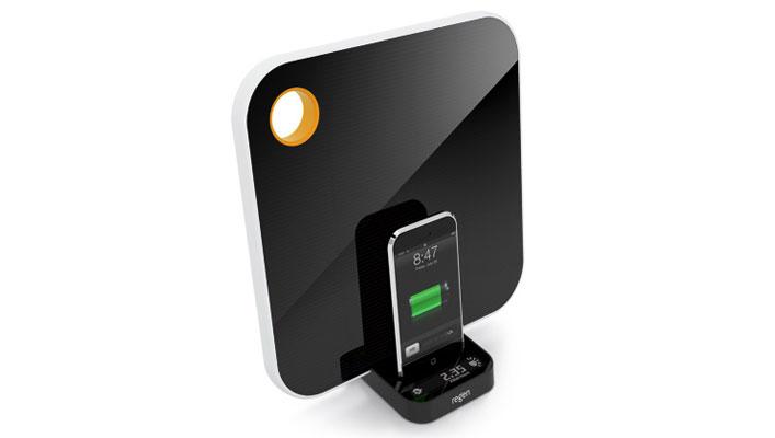 Solar iPhone Charging Dock