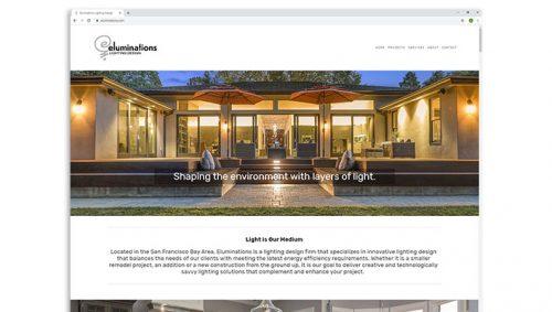 eluminations lighting design website